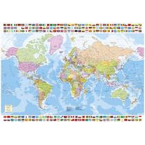16301 Mapa Del Mundo Rompecabezas 1500 Piezas 10+ Educa