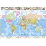 17117 Mapa Del Mundo Rompecabezas 1500 Piezas 10+ Educa