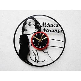 Reloj De Disco Vinilo Vinil Acetato Lp Monica Naranjo