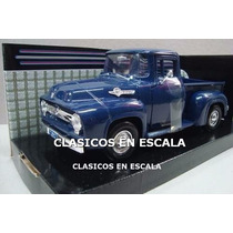 Ford F-100 1956 Pick Up - Clasico Americana - Motormax 1/24