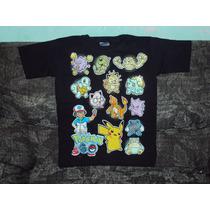 Playeras Pokemon Go Pikachu Ash Talla 6-8 Niño Dragon Ball