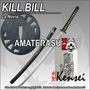Katana Kensei La Novia De Kill Bill Full Tang Filo Extremo