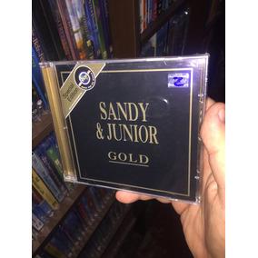 Cd Sandy & Junior Gold Special Edition Lacrado Raro