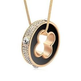 Collar Con Cristales, Ocean Heart A8-13-01