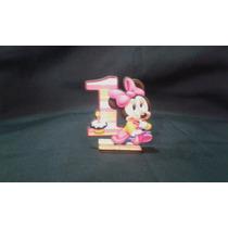 Souvenir Minnie Bebe 1 Año Fibrofacil