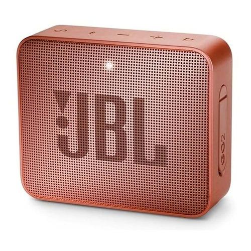 Caixa de som JBL Go 2 portátil com bluetooth sunkissed cinnamon