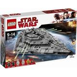 Lego Star Wars 75190 First Order Star Destroyer Unico Ml