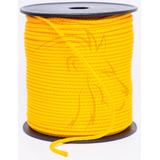 Cordão Rabo De Rato 4/1 3mm 100m 1un Polipropileno Amarelo