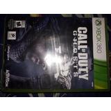 Call Of Duty Ghost Xbox 360 Usado
