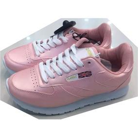 Zapatos Damas Metalizados Tipo Reebook Deportivo Colombiano