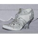 Mini Sapato Em Resina - Modelo Branco