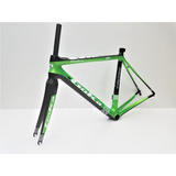Cuadro + Horquilla Bicicleta Goka R8 Carbono Ruta T/52