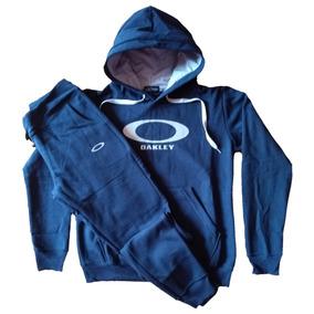 Conjunto Oakley Moletom Feminino Moleton Calça + Blusa