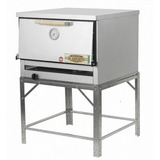 Horno Pizzero 12 Moldes Gas Natural Sol Real