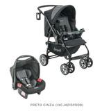 Carrinho E Bebê Conforto Burigotto 2018 At6k Promoção Novo
