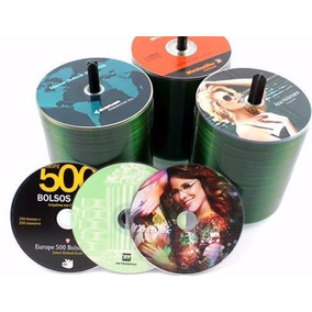 10 Cds Ou Dvds + Print