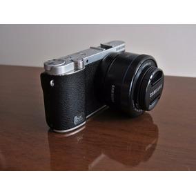 Camera Samsung Nx3000 + Acessórios Impecável C/ Pouco Uso