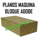 Kit Construye Maquina Bloques Ecológicos Planos Adobe Prensa