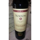 Norton D.o.c Vino Malbec Vta Cj X 6u X 750ml.boulogne Oferta