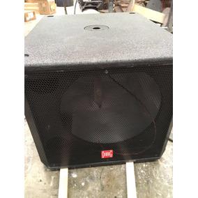 Bafle Tipo Jbl Qrx718s Con Bocina C18-1000 Envio Gratis