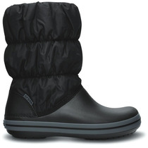 Bota Crocs Dama Winter Poof Negra