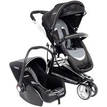 Carrinho Bebê Conforto Compass Ii Tricíclo Aluminio Kiddo Pr