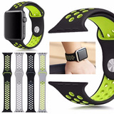 Correa Sport 11 Colores Para Apple Watch 38mm Y 42mm