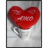 Peluche Y Taza San Valentin Te Amo Regalo Romantico Amor