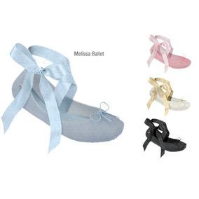 Melissa Ballet Iv Sapatilha Azul Tamanho 37