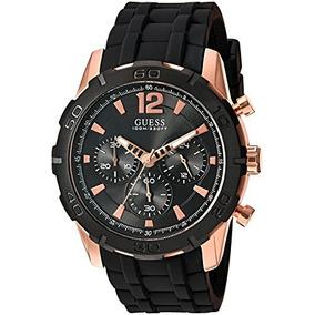 Guess Hombre U0864g2 Sporty Rosa-oro Reloj Multifuncional D