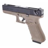 Pistola Airsoft Glock 18c Tactical + Balines+ Gas. Oferta!!!