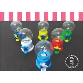 Mini Dispenser De Chicles Vacios Souvenirs Cumpleaños