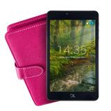 Kit Tablet Dl Futura T8, Tela 7, 8gb, Capa Pink C/ Teclado