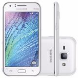 Samsung Galaxy J1 J100mu Blanco 4g Como Nuevo Movistar