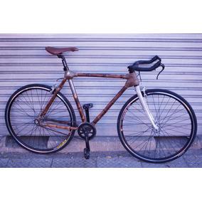 Bicicleta De Bambú Colihue, Single Speed, Fixie