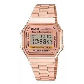 db8b38132a21 Casio Retro Rose Camuflado - Relógios no Mercado Livre Brasil