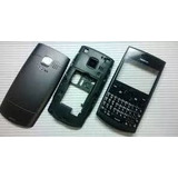 Carcaça Nokia Asha 205 Preto E Branco Chassi Telcado Nova