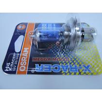 Lâmpada Super Branca Osram Efeito Xenon H4 Titan Fan Ybr