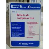 Revista De Derecho Privado 2000 - 3 / Boleto De Compraventa