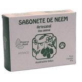 Sabonete Neem Antipulgas Uso Animal - Natural E Vegano