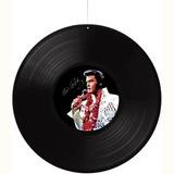 Disco De Vinil Elvis Presley Para Pendurar No Teto Festa