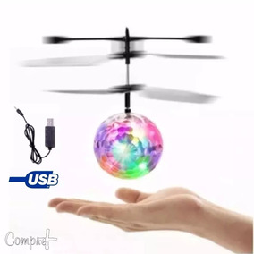 Bolinha Voadora Flying Ball Fly Ball Mini Drone Recarregáve