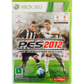 Pes 2012 Xbox 360 Mídia Física - Novo Lacrado