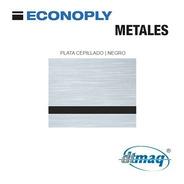 Plástico Bicapa Laserable Econoply Metalizado Tercio 60x40cm
