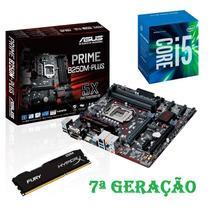 Kit - Proc. I5 7400+ Mb Asus B250m-plus Prime+ 8 Gb Fury