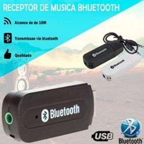 Receptor Audio Bluetooth Wireless Carros Som Musica P2 Aux