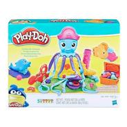 Play-doh Pulpo Divertidos Tentaculos Cranky Hasbro E0800 Edu