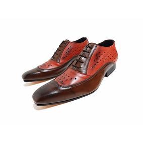 Zapatos De Cuero T44 100 % Cuero Priamo Italy 2x1 Oferta!