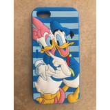 Forro Estuche Funda Goma Iphone 5 5s Pato Donalds