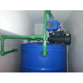 Tanque De Agua Cilindrico Para Apartamento Con Instalación